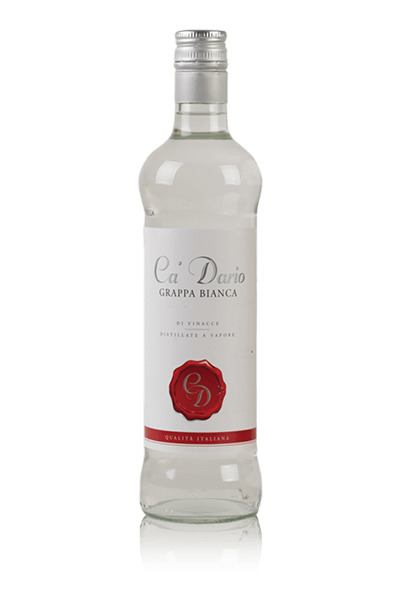 grappa bianca licor italiano