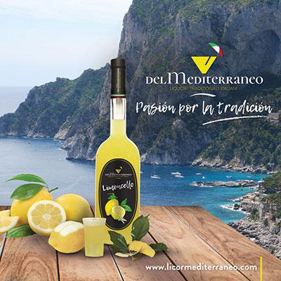 limoncello mediterraneo licores tipicos italianos