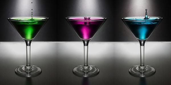 vasos coctel licores tradicionales